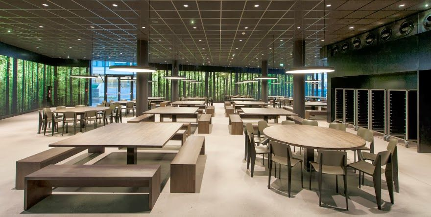 The Dining Hall Mensa For New Vienna University Of Economics And Business