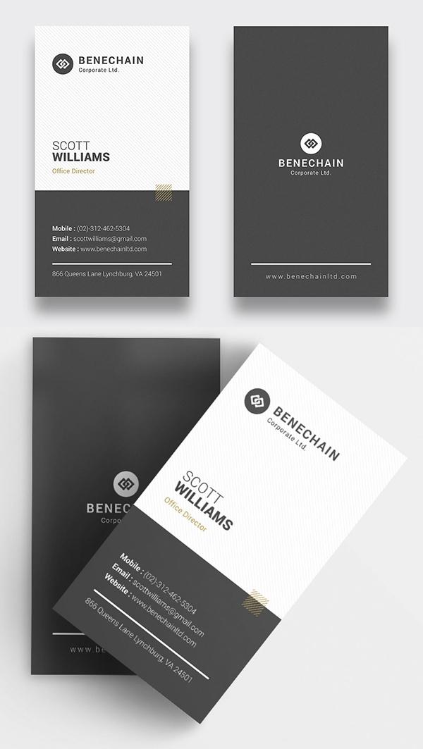 Modern Business Card Psd Templates 30 Print Ready Design Design Graphic Design Junction Modern Business Cards Graphic Design Business Card Professional Business Card Design