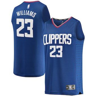 Lou Williams LA Clippers Fanatics Branded Fast Break Replica Jersey Royal -  Icon Edition fc98b4823