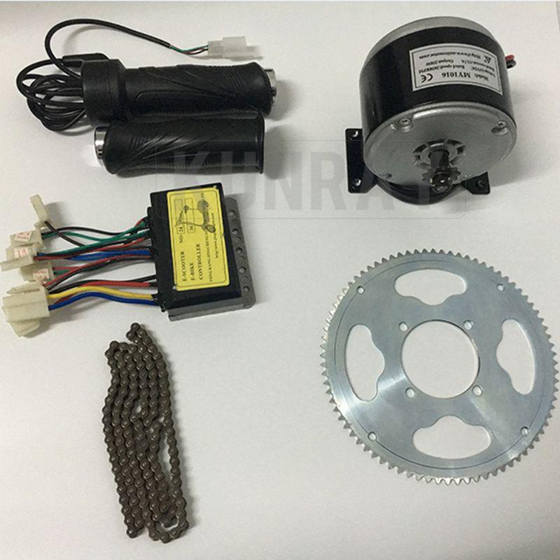 Promo Electric Bike Motor Diy Kit My1016 Dc 24v250w Brushed Motor
