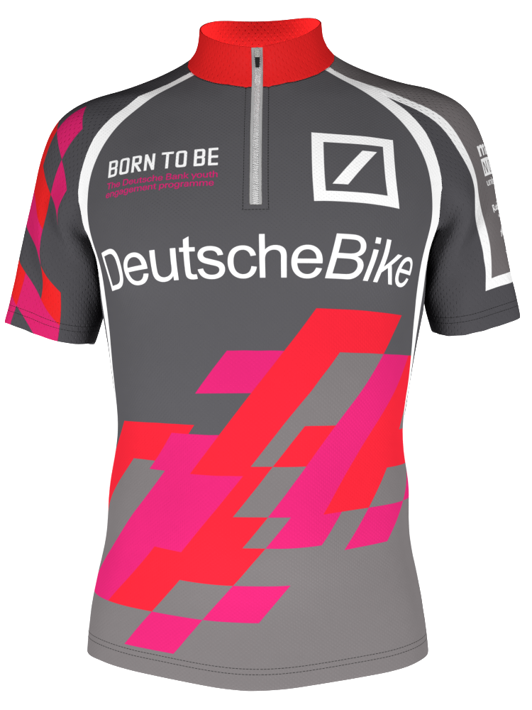 Special Red Pink Bike Jersey Design Made In The Online 3d