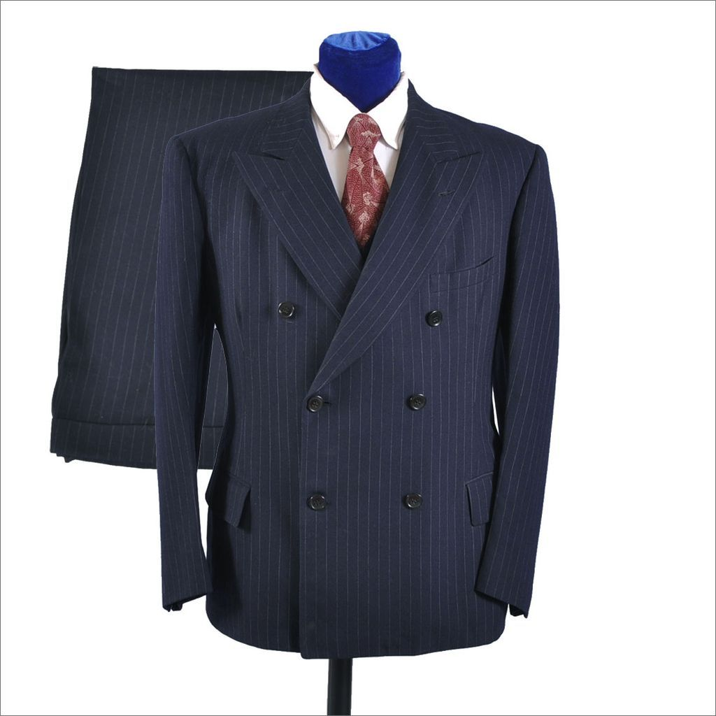 1930's men's fashion | Men's Vintage 1930's 3 pc Double Breasted Suit - Pin  ...