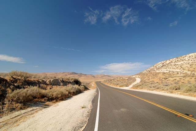 Light traffic, great roads, cool views and good food at both ends make Highway 58 a ride not to be missed. Photo and article by Joe Berk, Motorcycle Classics March/April 2010. Read more at motorcycleclassics.com.