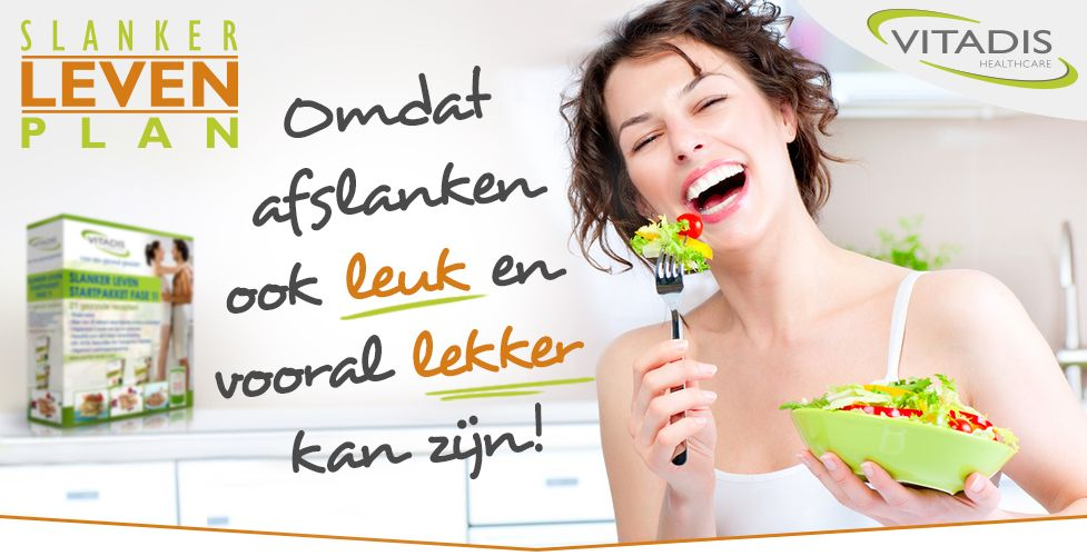 Vitadis Slanker Leven Plan - Snel en gezond afvallen met het slankerleven plan , de beste afslankmethode van dit moment !