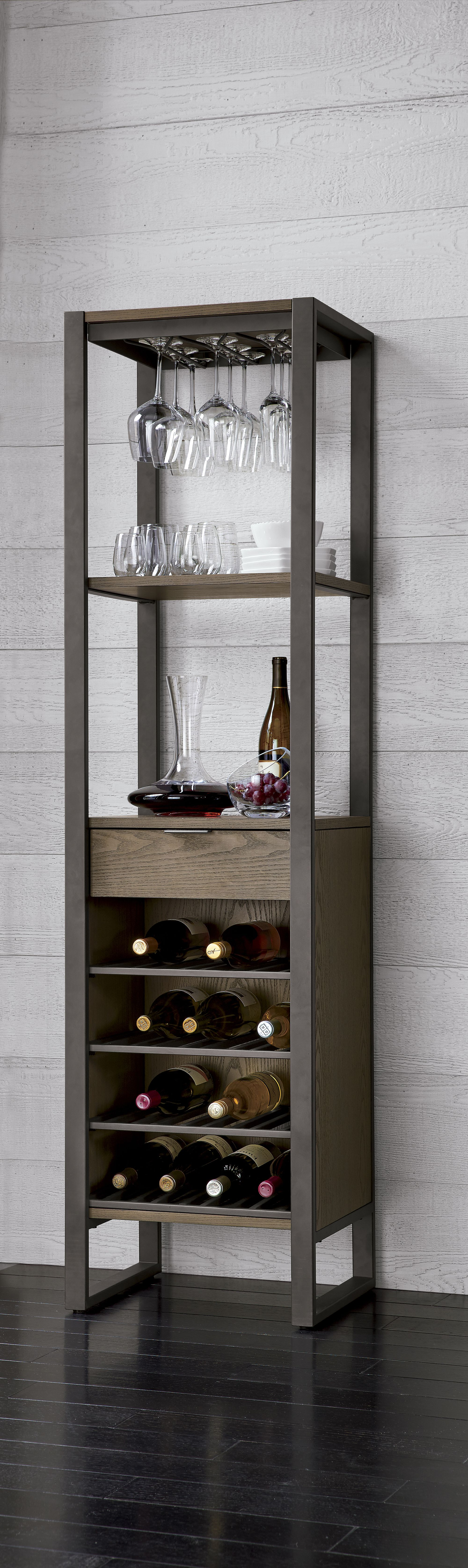 This all in one wine tower promises to be the center of the party