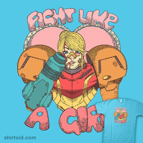 Samus, Fight Like A Girl, Girls