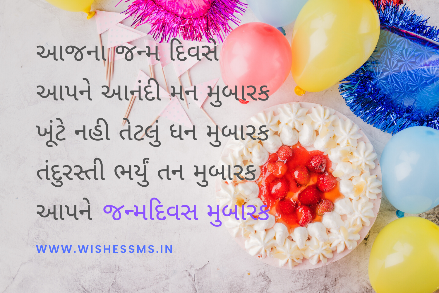happy birthday wishes in gujarati text for friend in 2020