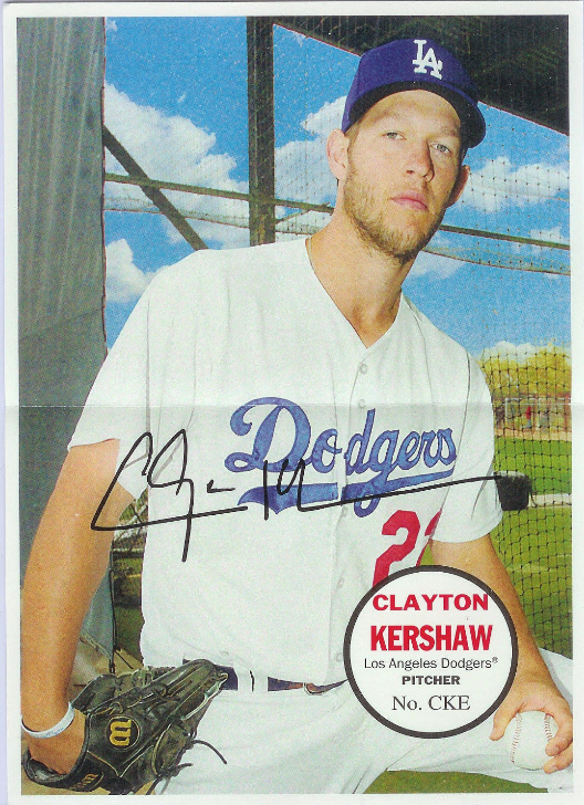 Dodgers Blue Heaven: 2016 Topps Heritage - The Dodgers Box Loader Cards    **    #67PB-CKE Kershaw