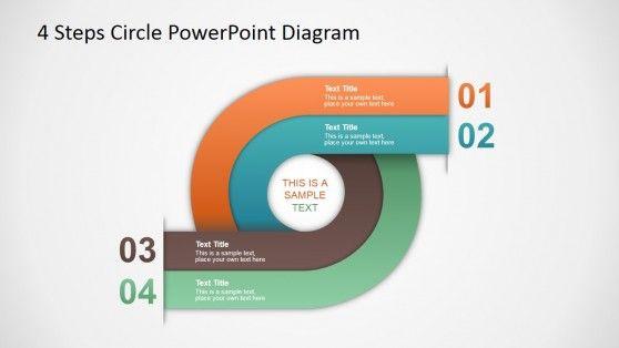 4 passos modelo de crculo diagrama para powerpoint template 4 passos modelo de crculo diagrama para powerpoint ccuart Images