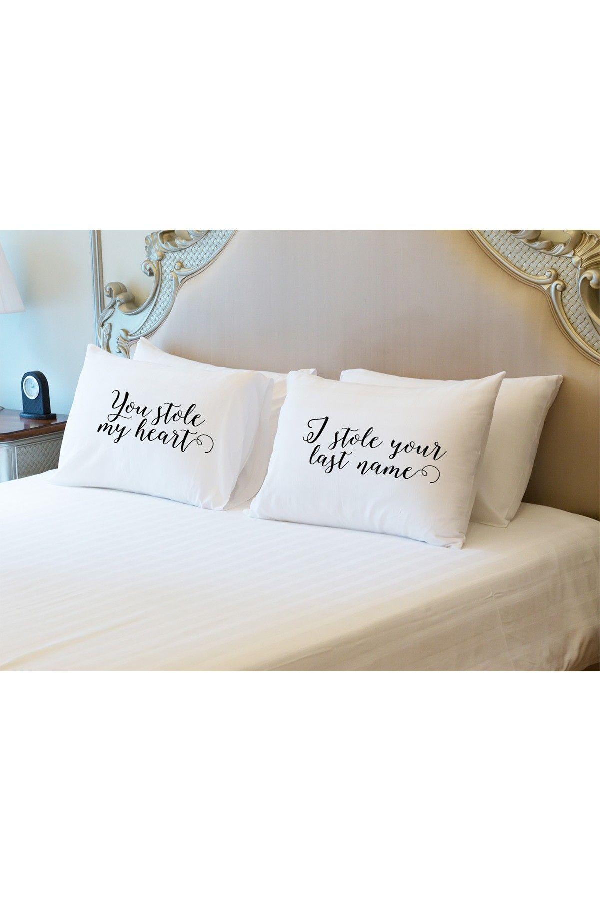 Lightning E Commerce Steal Last Name Pillowcase Set Of 2 Hautelook Pillow Cases Pillow Case Sets Standard Pillow