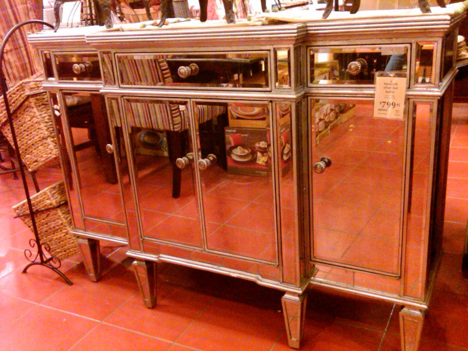 Mirrored Buffet For Living Room Pier 1