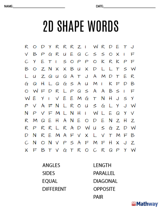 image regarding Math Word Search Printable referred to as Delight in term discover routines? Stick to our board for heaps of math