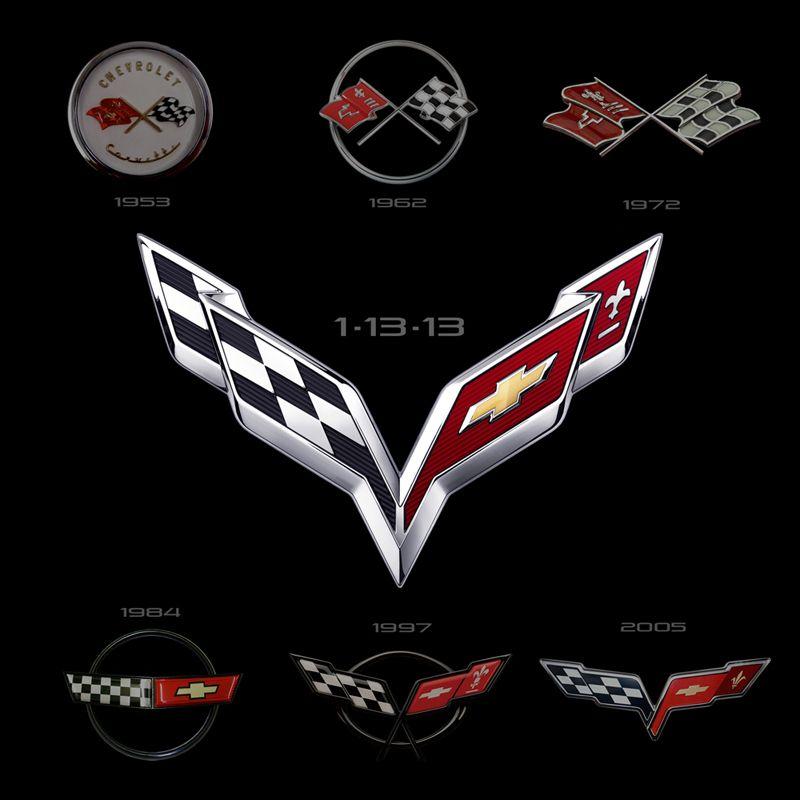 Historia Del Logo De Corvette Chevrolet Corvette 2014 Corvette Stingray Corvette