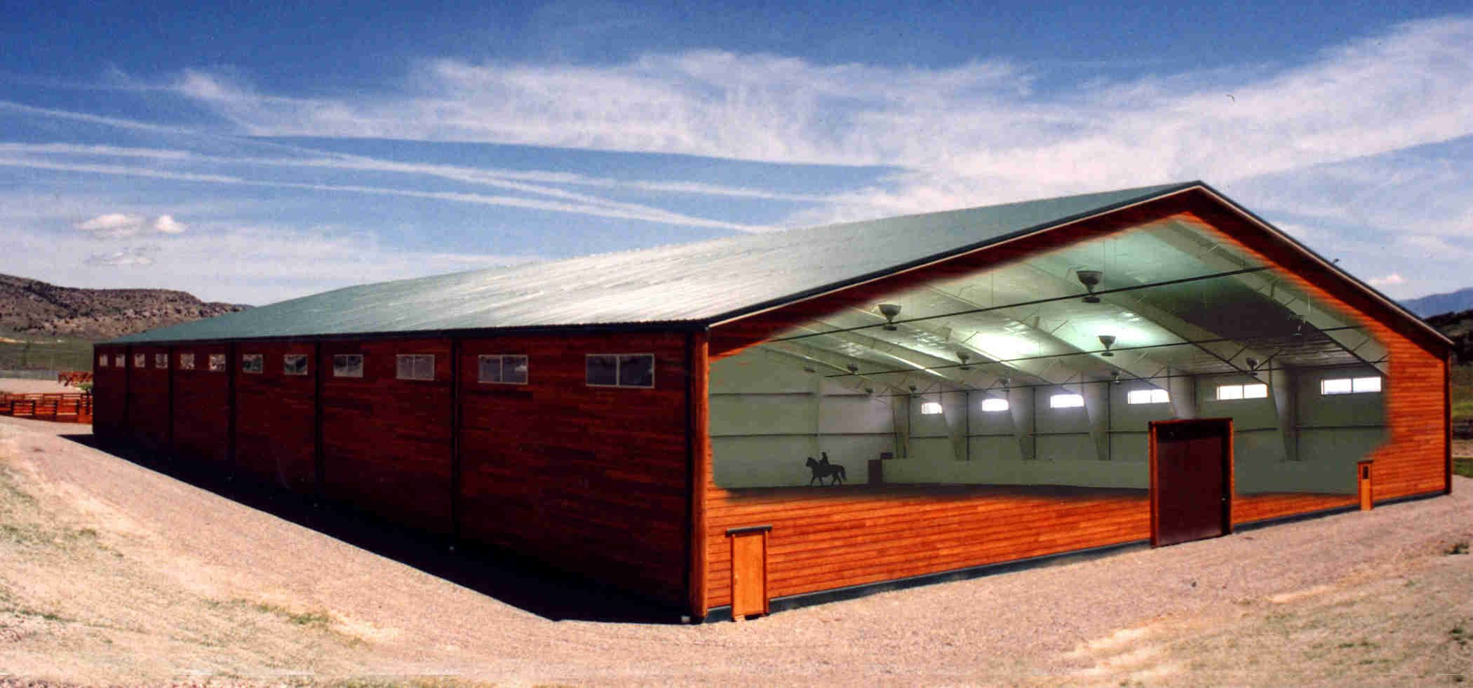 Steel building construction price warehouse design with for Metal barn home kits