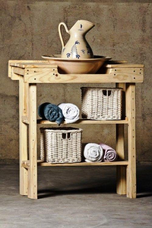 Ideas para hacer muebles caseros y reciclando palets - Hacer muebles de palets ...