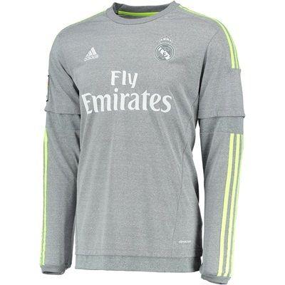 Real Madrid Grey Longsleeve Jersey | Real madrid jersey