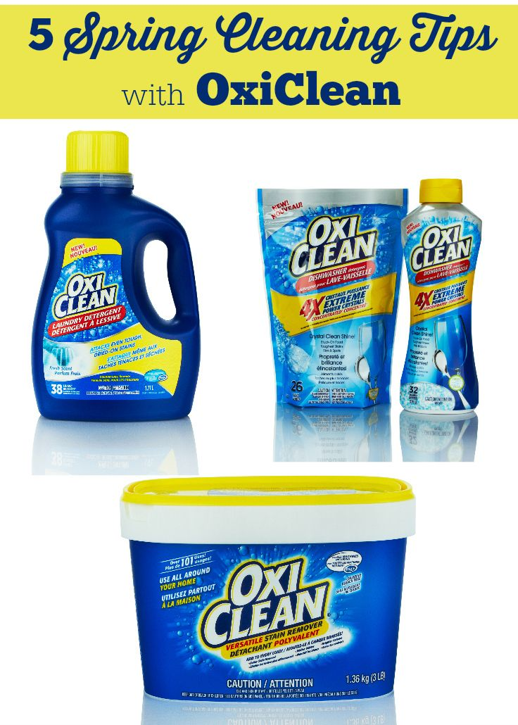 How To Use Oxiclean For Spring Cleaning Carpet Cleaning