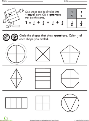 Fractions Of Shapes Ks2 - teaching fractions of shapes year 4 ...