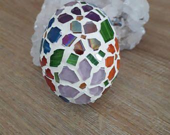 Mosaic easter eggfloral easter eggeaster giftglass mosaic art mosaic easter eggfloral easter eggeaster giftglass mosaic artnatur negle Images