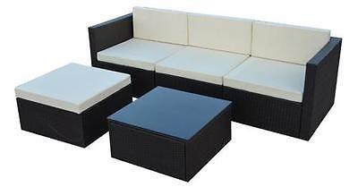 Polyrattan Gartenmöbel Set Gartengarnitur Sitzgruppe Lounge
