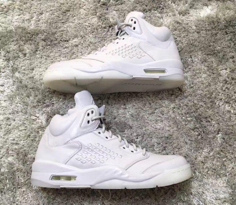"""Air Jordan 5 Take Flight """"Triple White"""