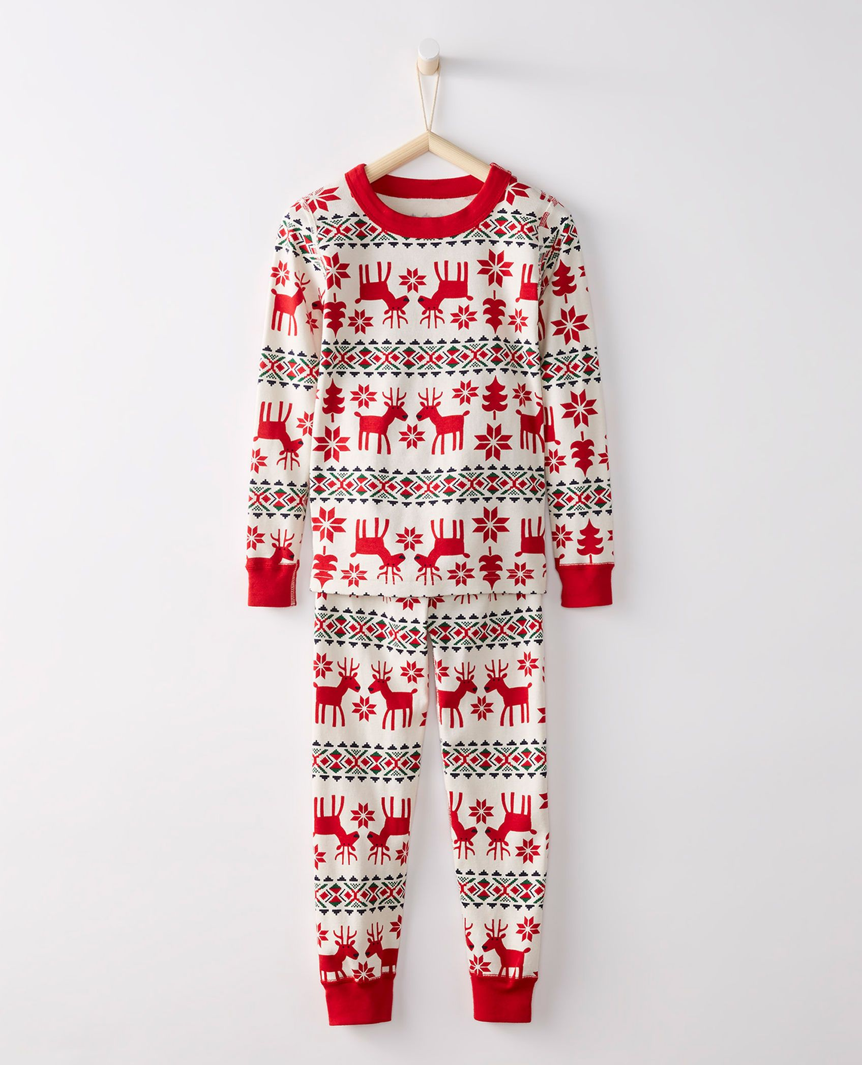 c38c8049f Long John Pajamas In Organic Cotton in - main