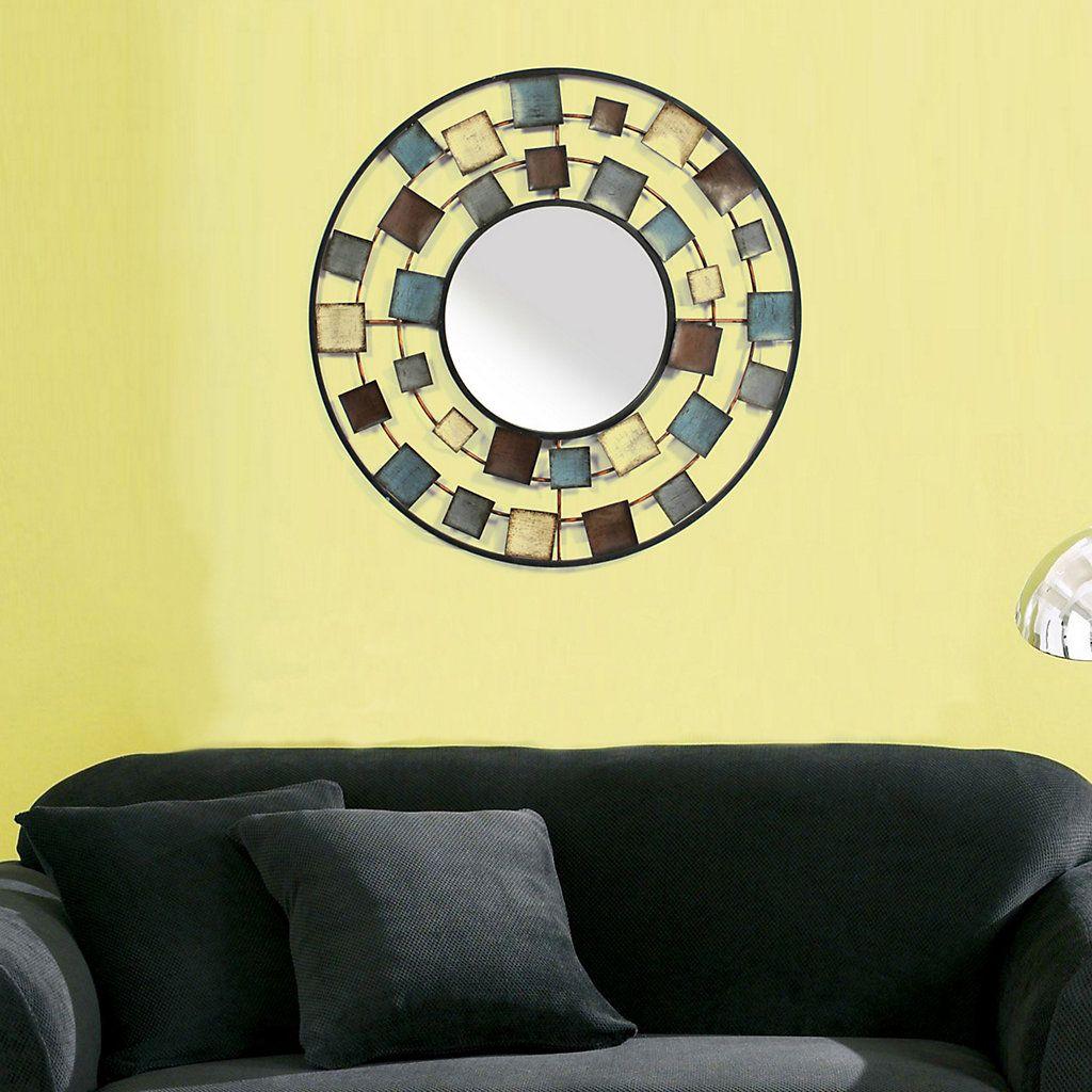 Square Circle Wall Mirror | Decor | Pinterest | Squares