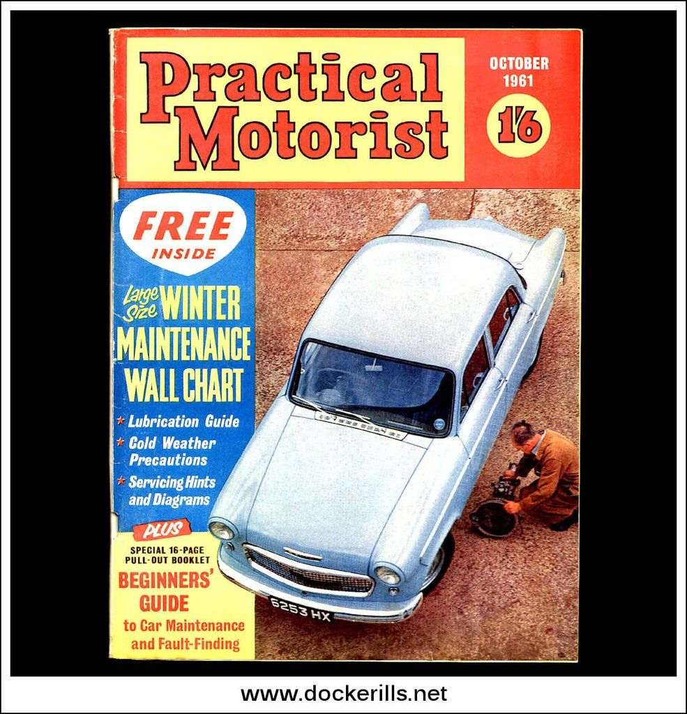 Practical Motorist Magazine October 1961 - Vauxhall Cresta