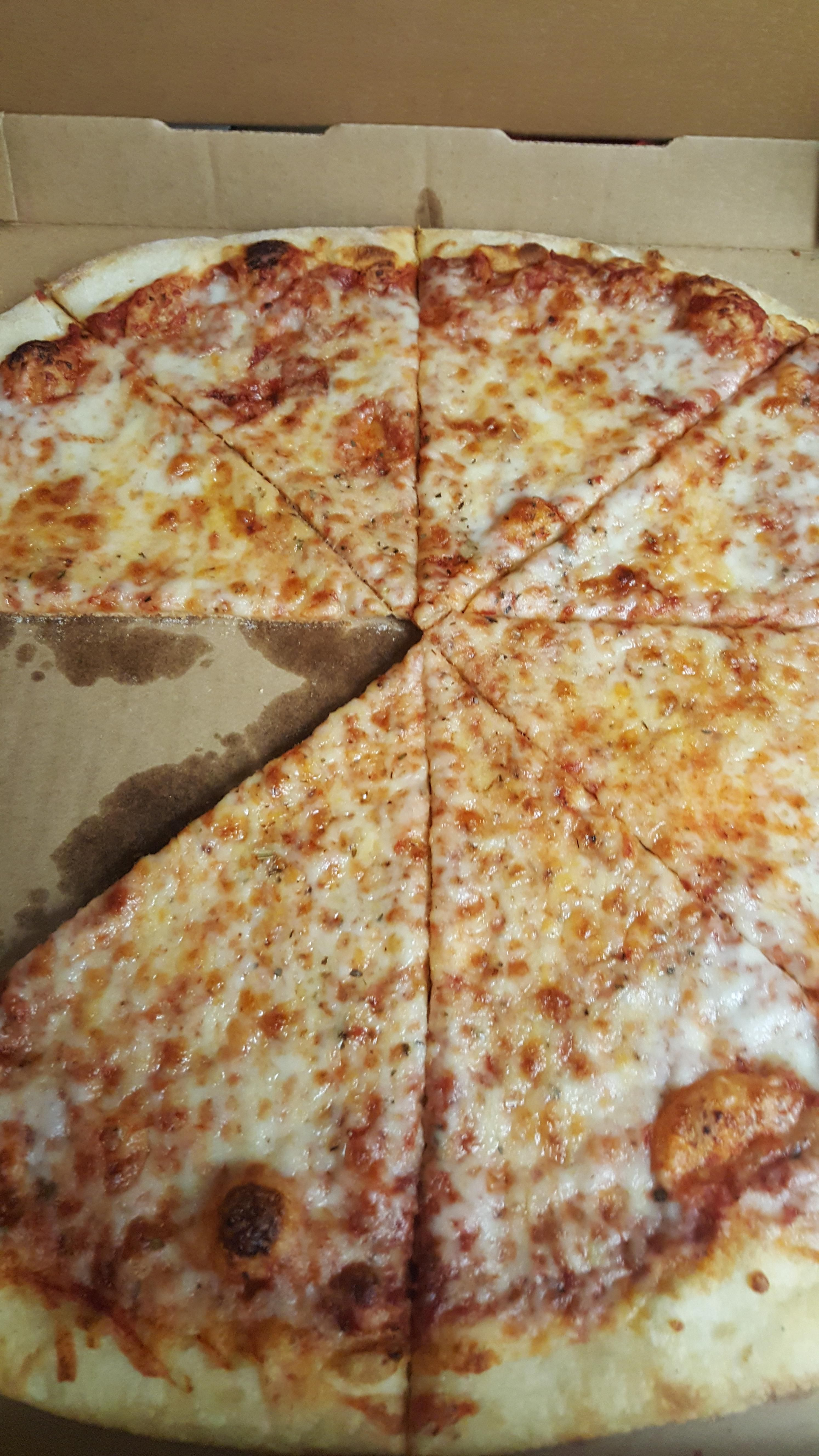 Just Had Pizza For Dinner New York Times Square Pizza