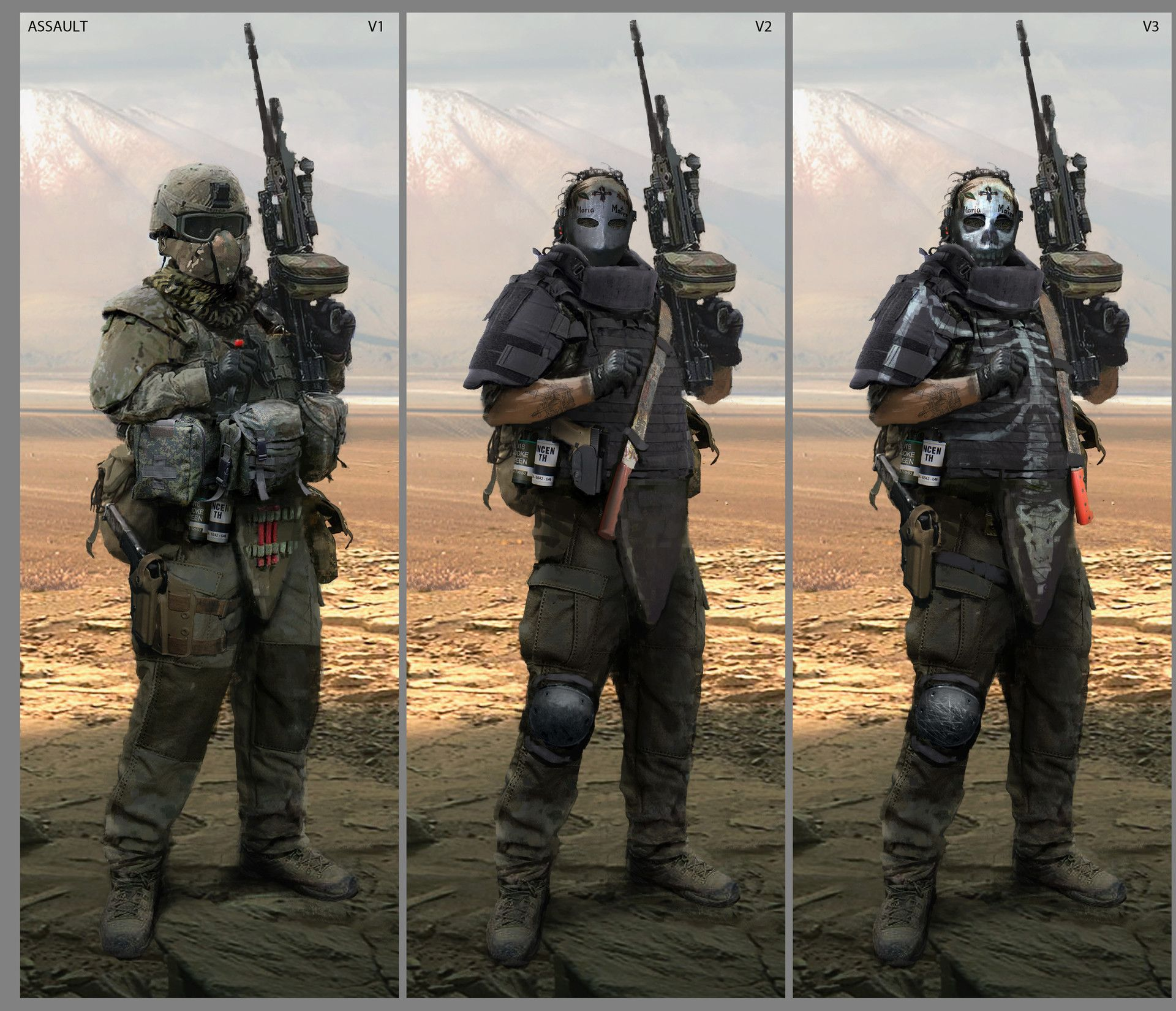 Apocalyptic Soldier Pics: ArtStation Is The Leading Showcase Platform For Games