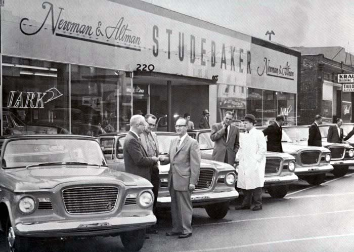 studebaker dealership 1958 vehicle pinterest. Black Bedroom Furniture Sets. Home Design Ideas