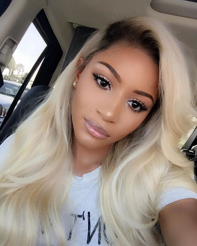Pretty Dark Roots Lovely Tresses In 2019 Blonde Hair Black