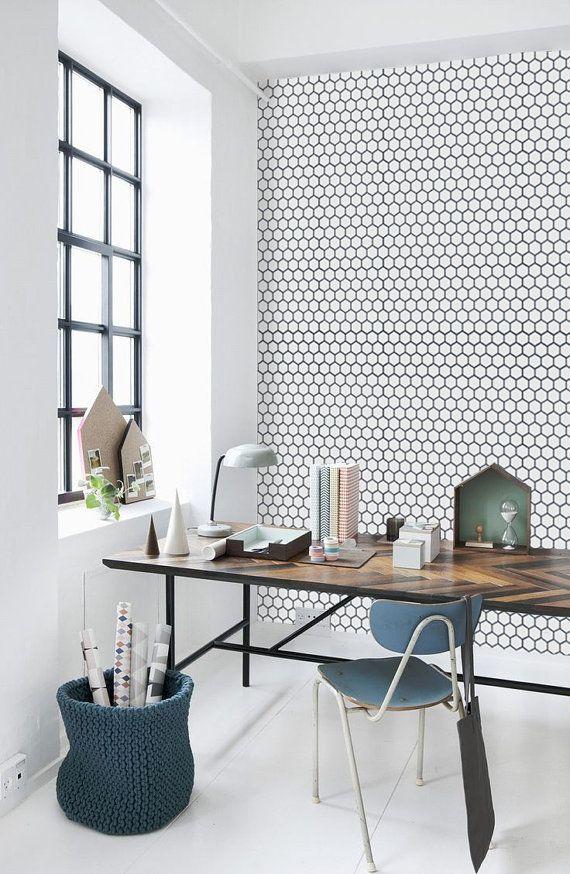 Die Designer Tapeten Sind Tolle Variante, Die Wand Im Heimbüro Kreativ Zu  Gestalten. Und Wir Werden Ihnen Gleich Mit Unserer Fotosammlung Davon  überzeugen!