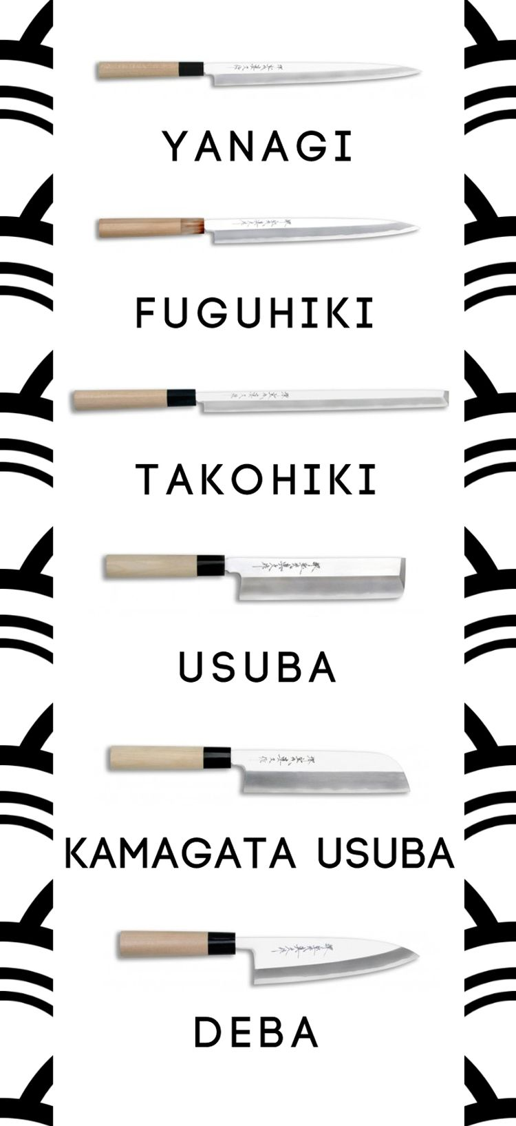 tipos de cuchillos japoneses                                                                                                                                                                                 Más