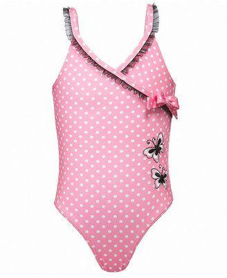 4679869178 ShopStyle: Penelope Mack Kids Swimwear, Little Girls Polka Dot One Piece