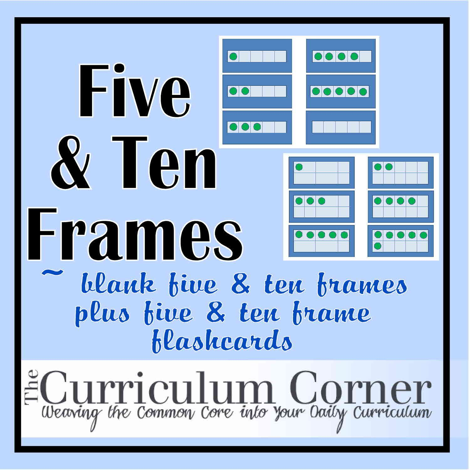 Five And Ten Frames