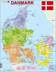 Danske Kommuner Kort Google Search Danmark Kort