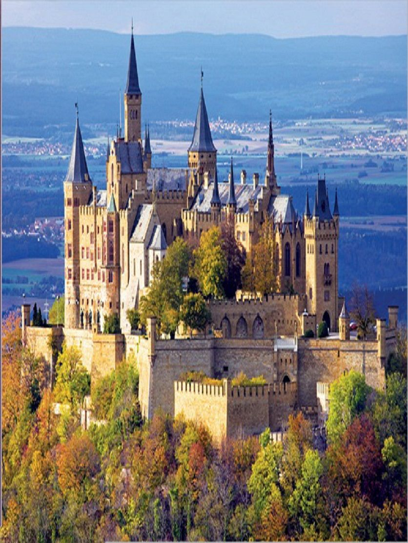 Hohenzollern Castle Germany 750 Pieces Buffalo Games Puzzle Warehouse Castles To Visit Germany Castles Hohenzollern Castle