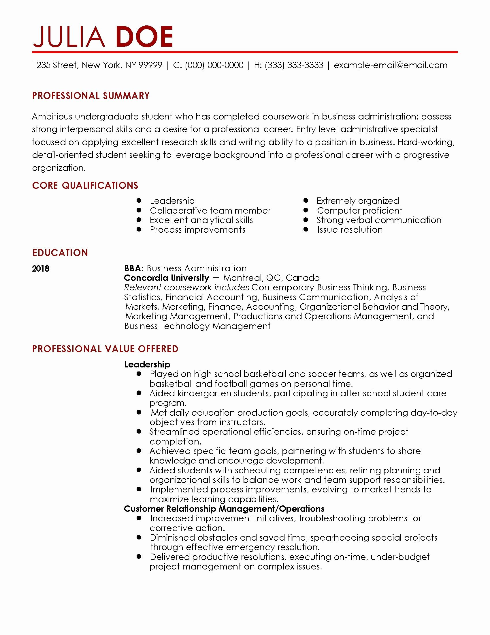 Sales Resume Examples Entry Level Sales Resume Sample