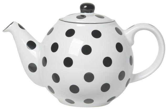 London Pottery Teapot 2 Cup Polka Dot London Pottery