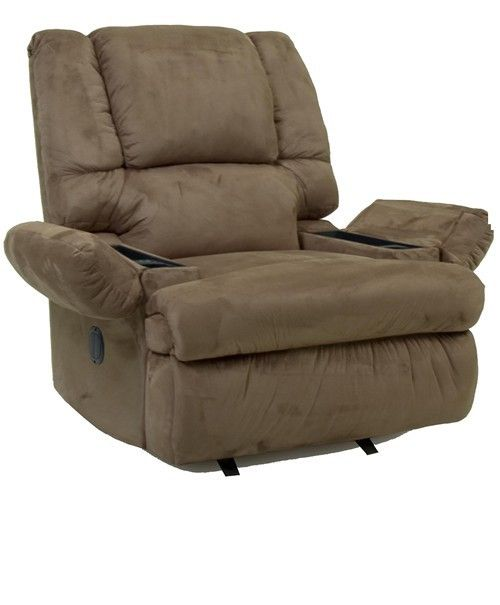 Rocker Recliner With Arm Storage