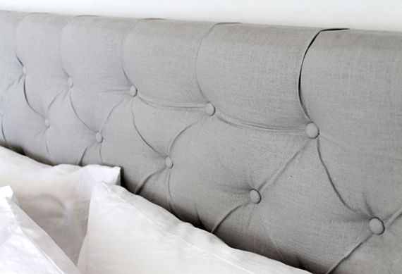 Wunderbar Modernes Schlafzimmer Gestalten Mit Selbstgemachtem Bett Kopfteil Gepolstert