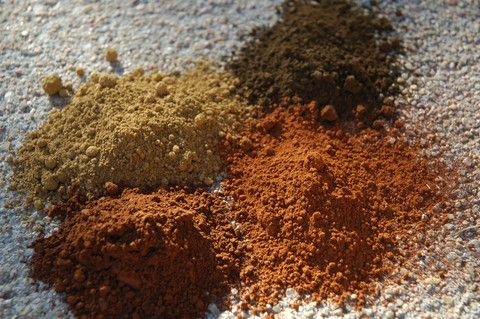 Umbers Natural Earth Pigments Umber Pigments Natural Paint A