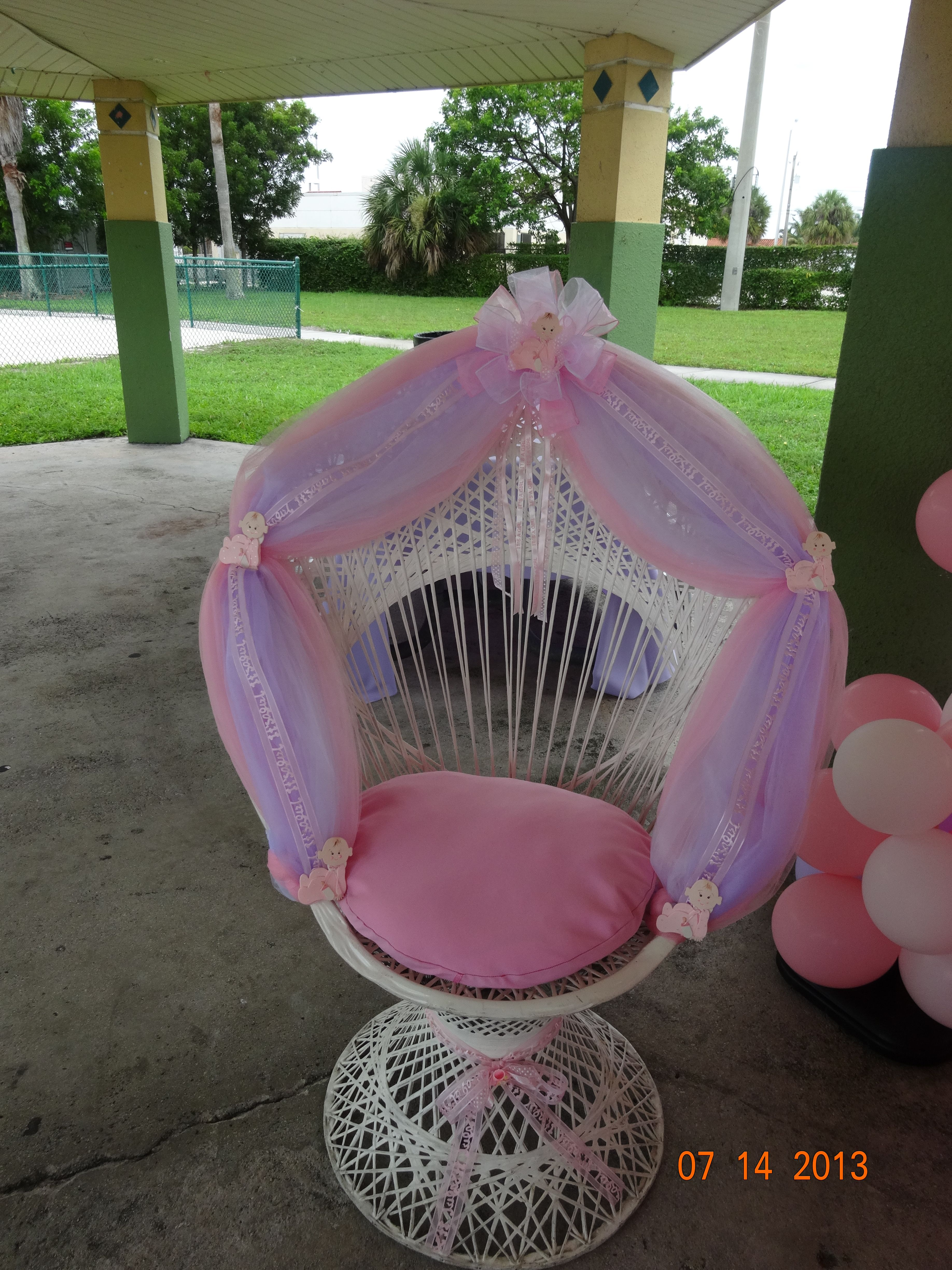 Baby Shower Chair for only $ 65.00 http://www.fourjparty.com/ Like ...