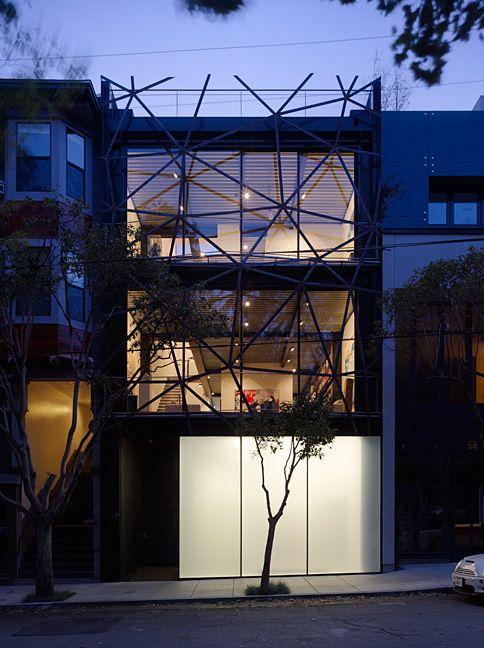 facade Contemporary House Pinterest Façades, Architecture et - mur porteur en brique