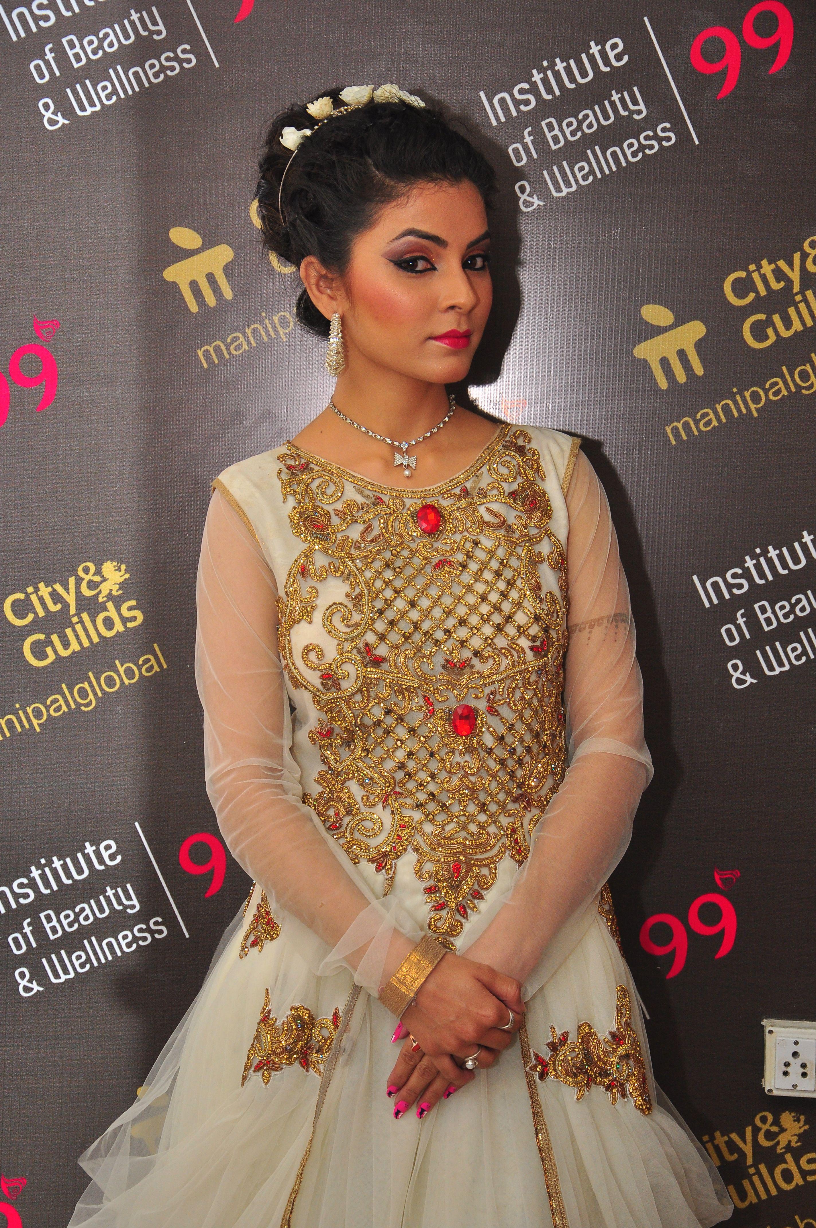 Celebrity Makeup Artist Shweta Gaur Attends a Destination