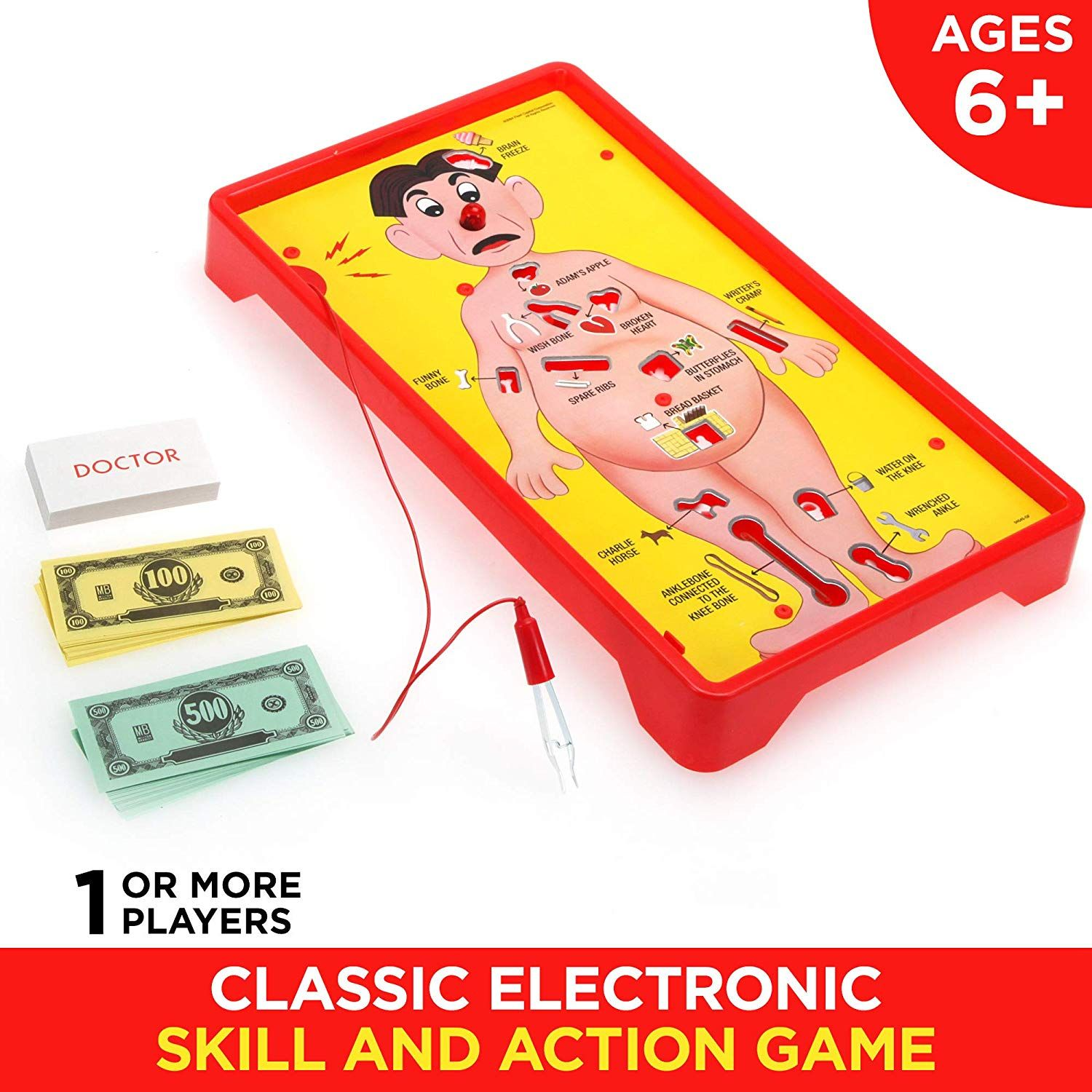 AmazonSmile Operation Electronic Board Game With Cards