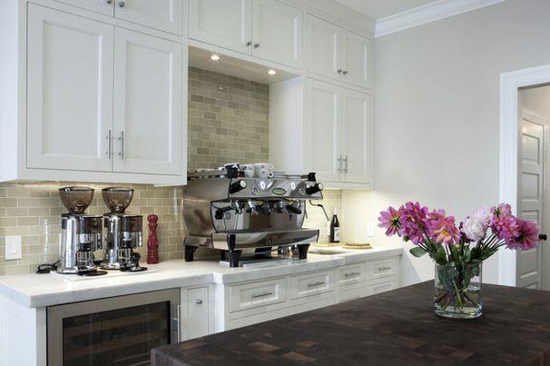 kitchen coffee corner bar ideas - Google Search