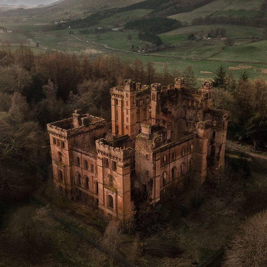 """Ruins & Castles Of Scotland On Instagram: """"Hidden Away In"""