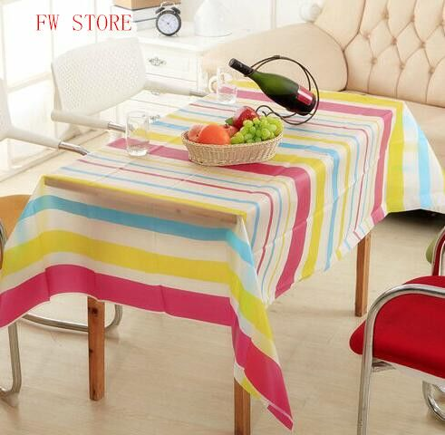 Attrayant PEVA Table Cloth Waterproof Oilproof Rectangular Tablecloth So Easy To Wipe  Off The Stain #Affiliate